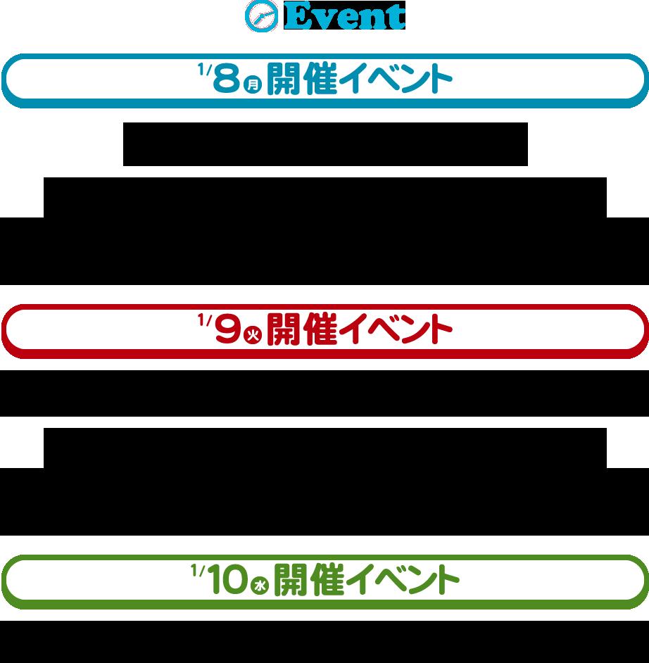 NGT48 2周年 タイムテーブル