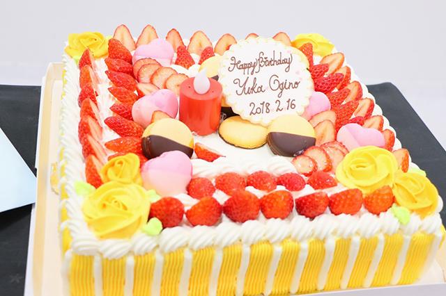 荻野由佳 生誕祭ケーキ