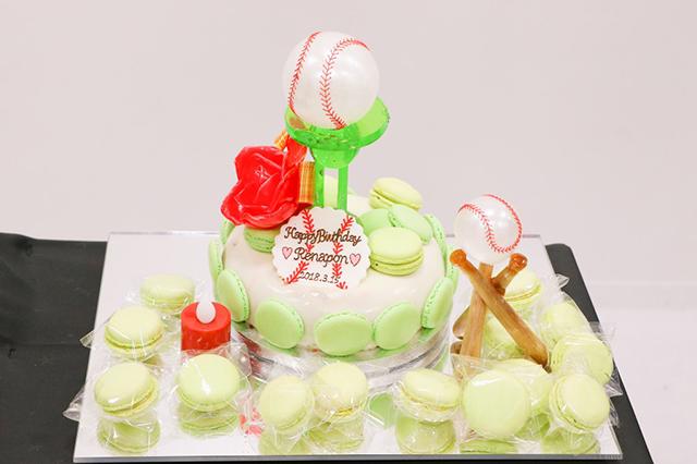 長谷川玲奈 生誕祭ケーキ