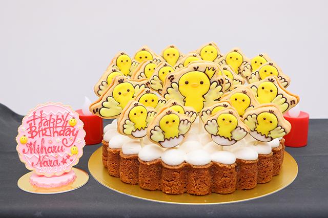 奈良未遥 生誕祭ケーキ